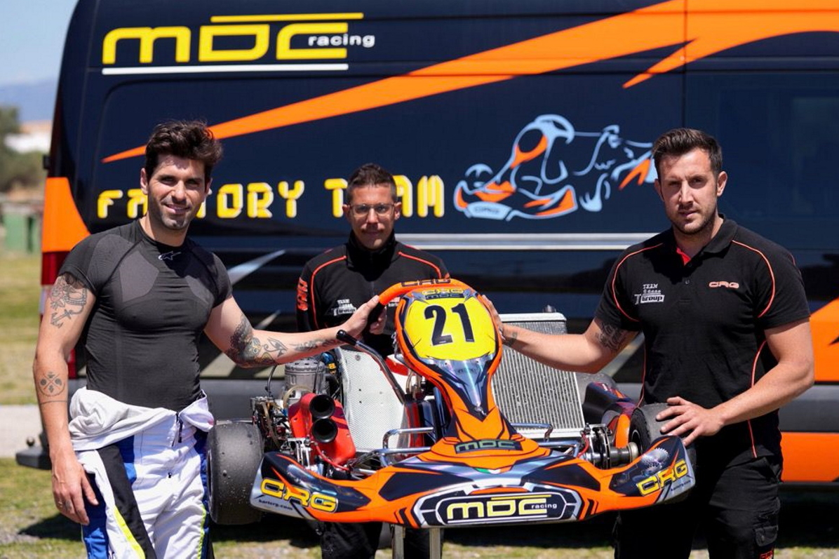 Jaime Alguersuari confirma su vuelta al karting, con el Campeonato del Mundo de KZ en el horizonte