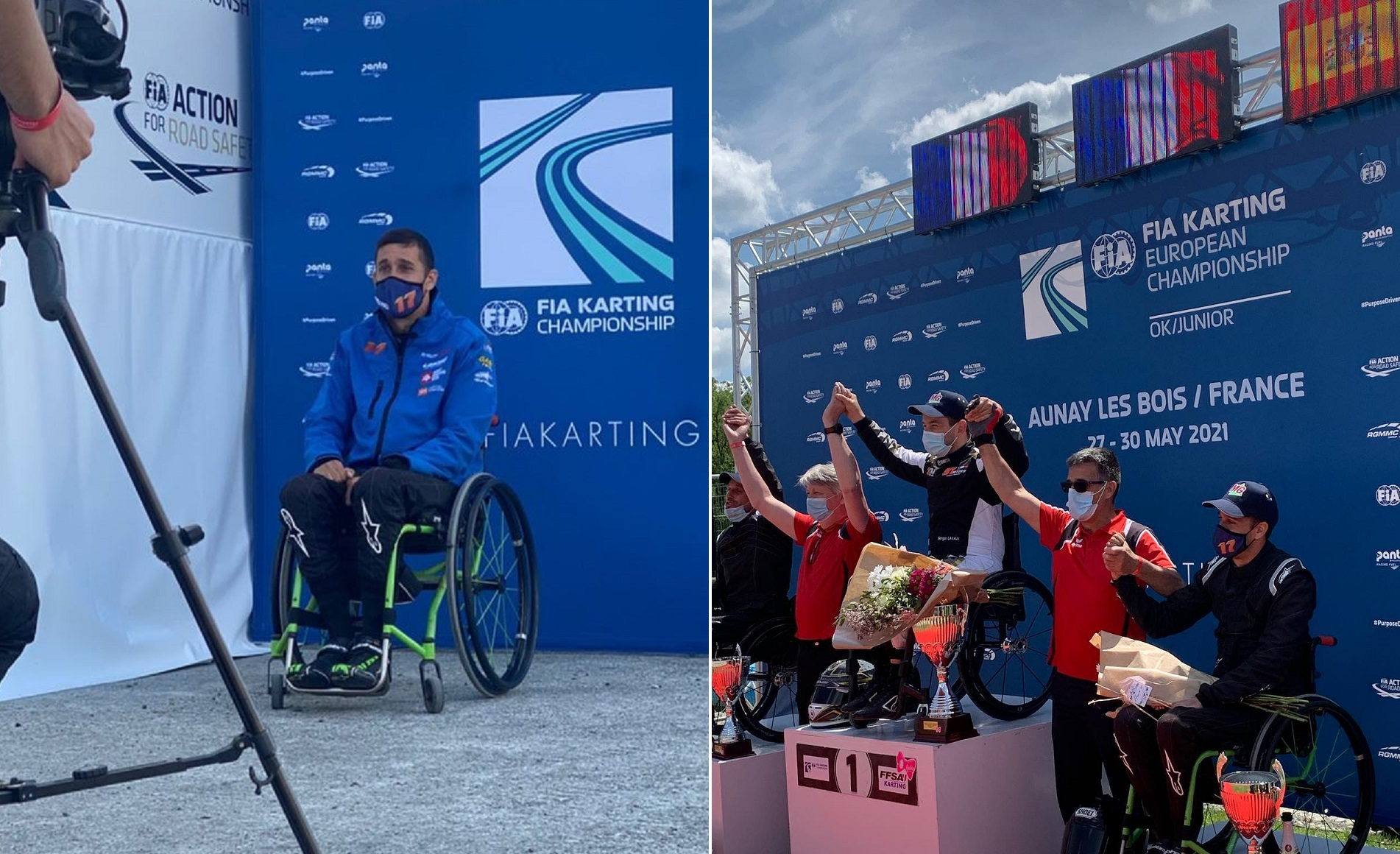 International Handikart Trophy - Joan Lascorz entre los mejores