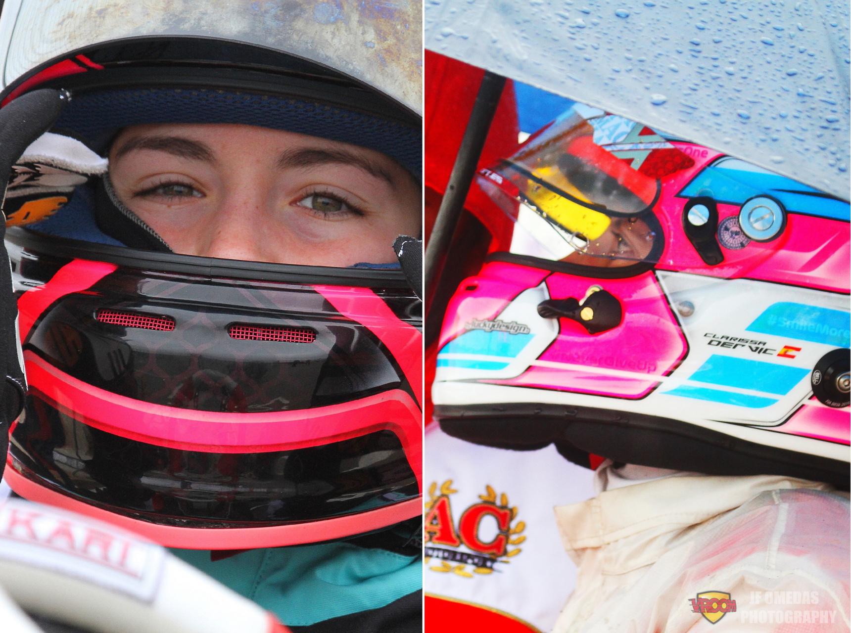 Laura Camps y Clarissa Dervic en la selección FIA Girls on Track - Rising Stars