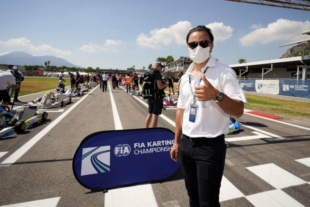 """Felipe Massa: """"La CIK-FIA está más atenta que nunca a la comunidad del karting""""."""