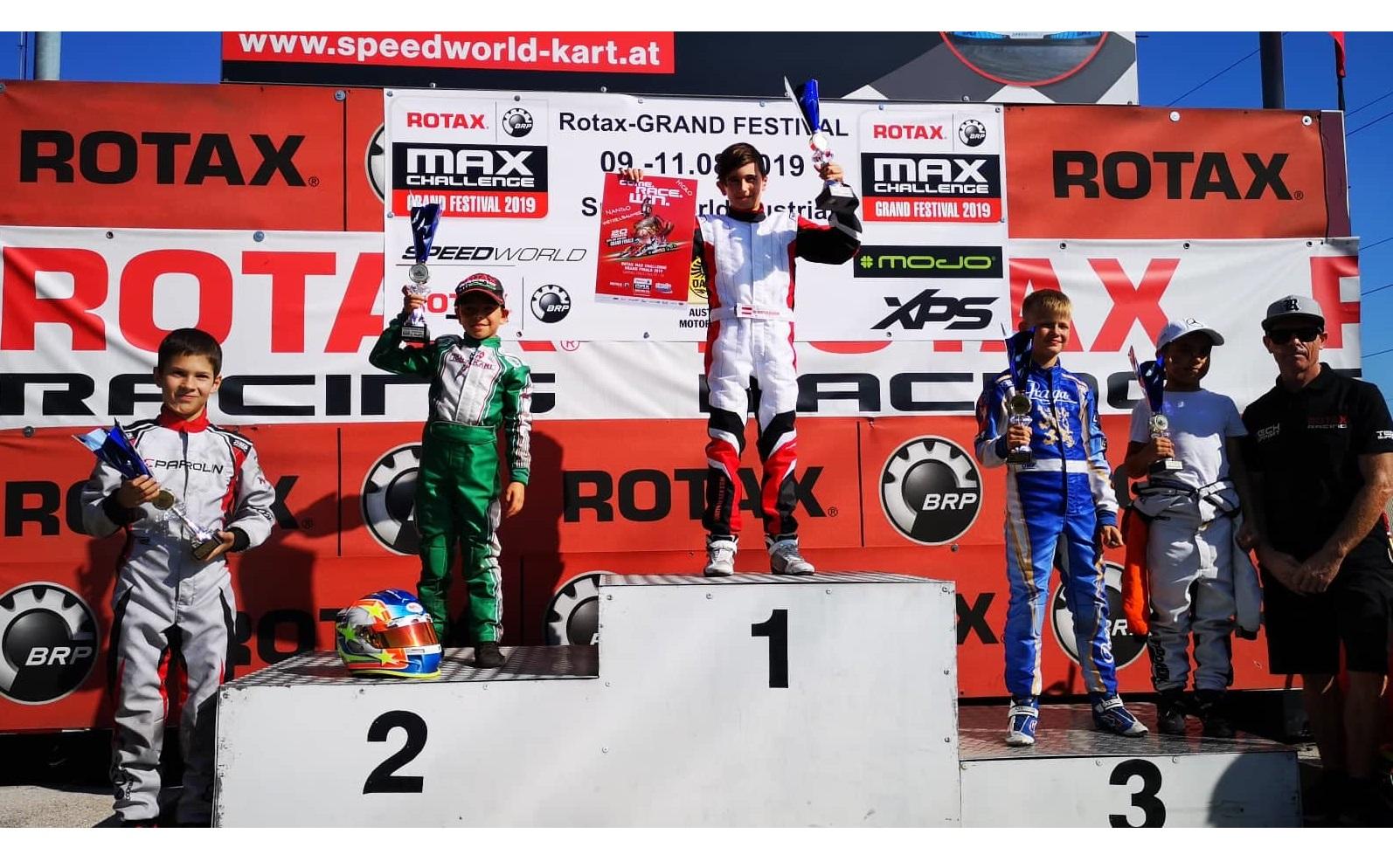 Christian Costoya subcampeón del Rotax Grand Festival 2019