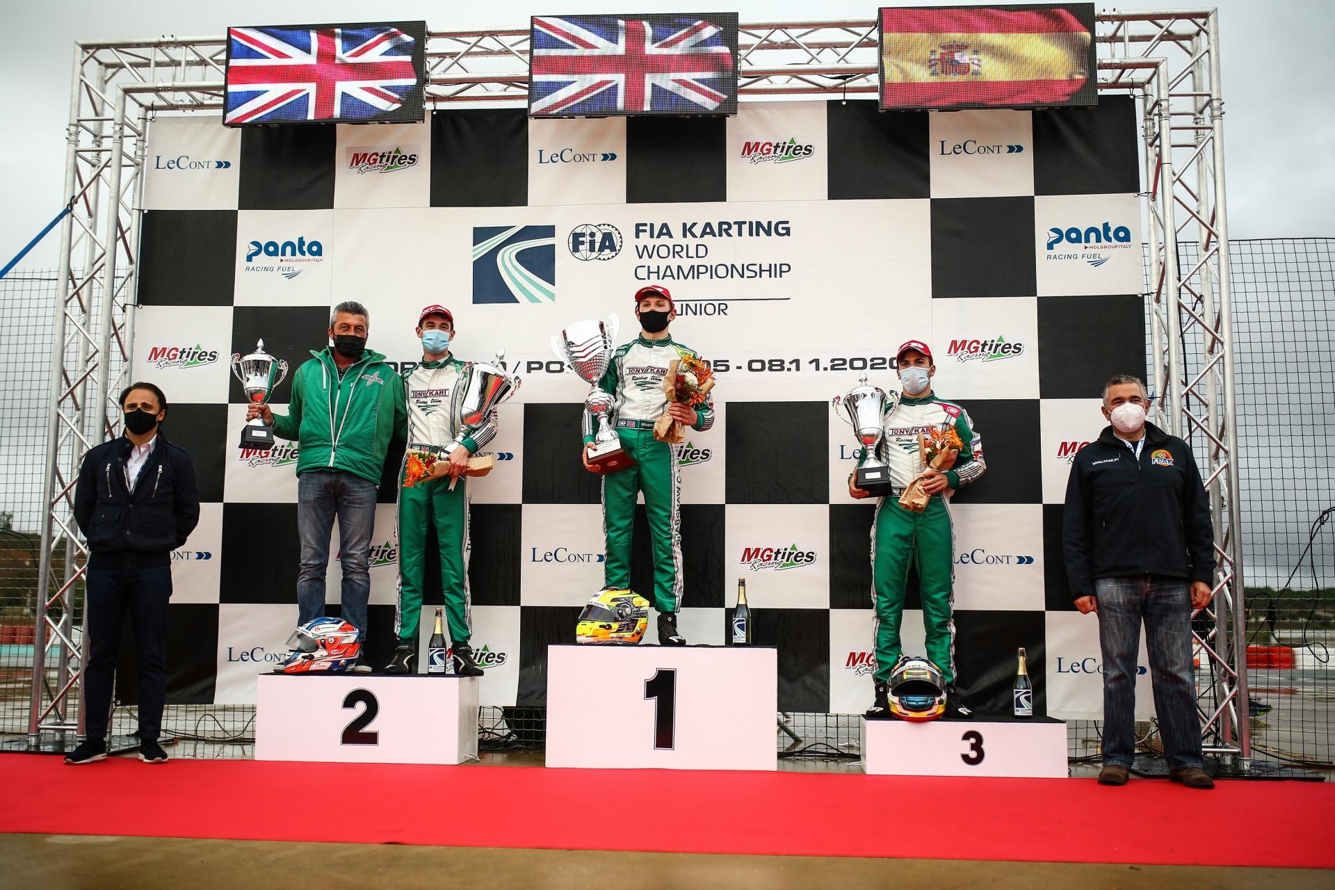 Mundial OK: ¡Tres españoles dentro del Top 10 con Pedro Hiltbrand en el podio!