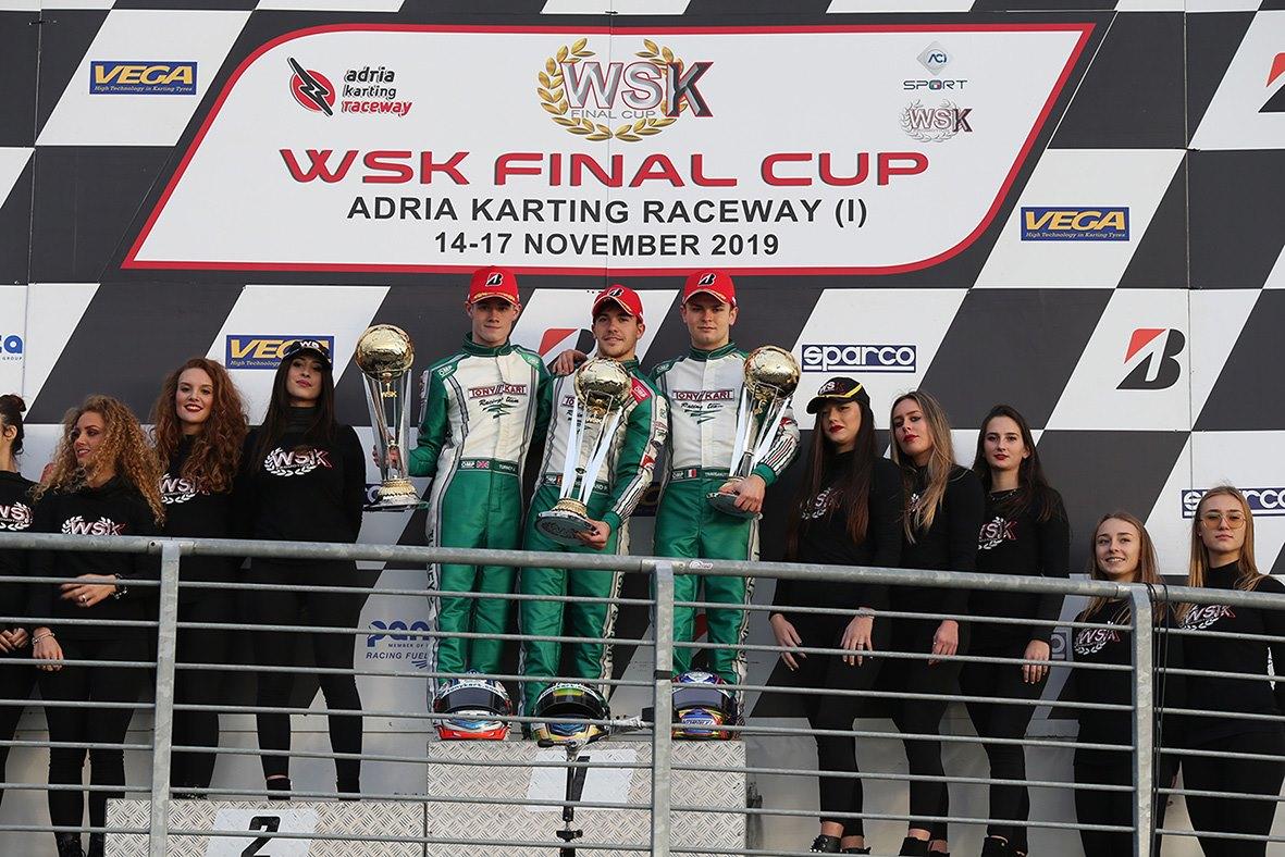 ¡Pedro Hiltbrand vuelve a ganar con Tony Kart!