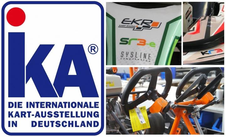 EKR presenta sus novedades en el IKA-KART2000