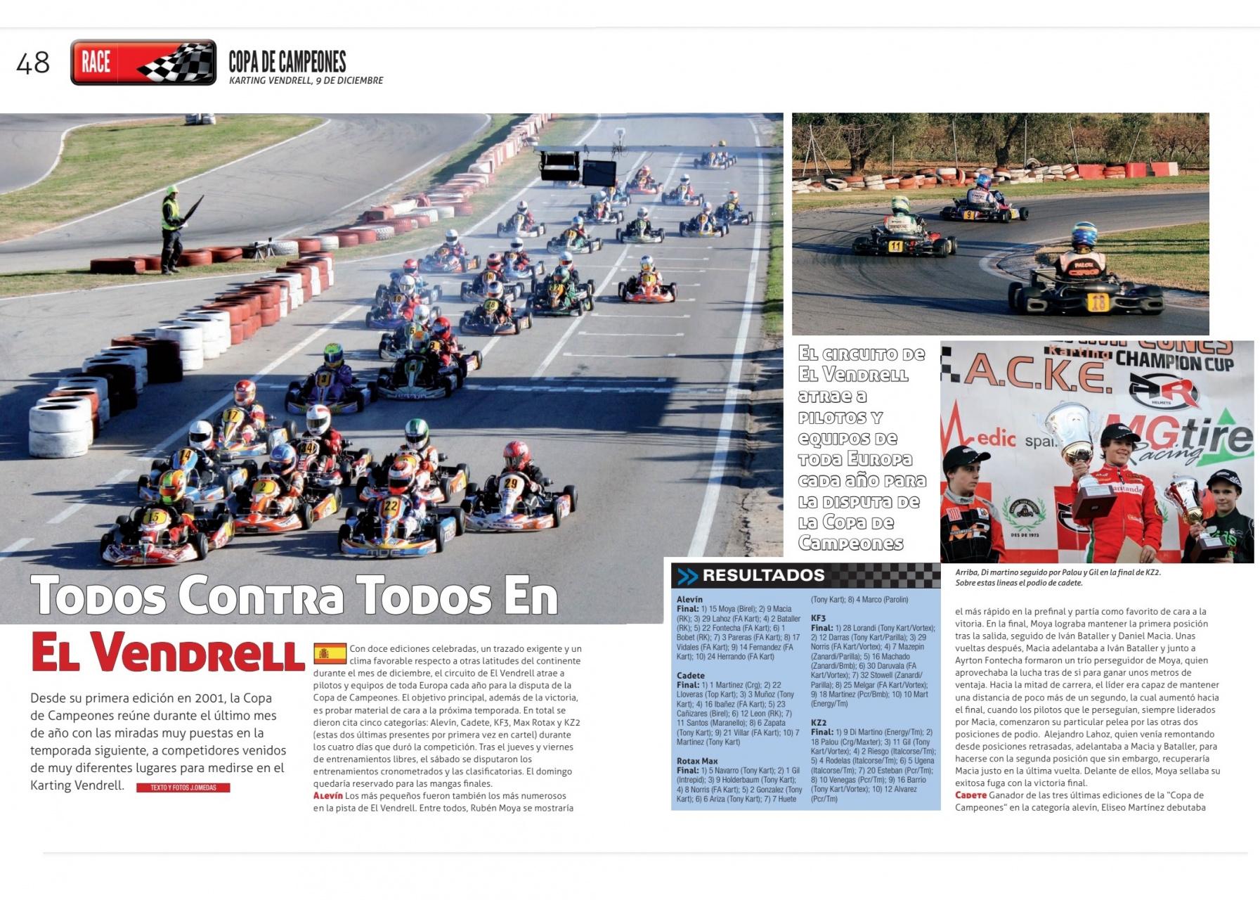 """Copa de Campeones 2012 - El """"debut"""" de Vroom en España"""