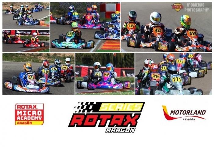 Las Series Rotax a por la tercera en Motorland