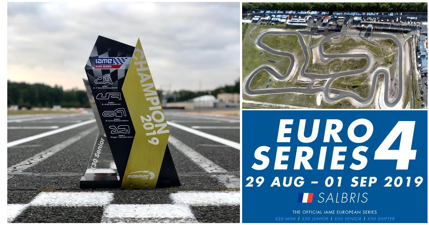 Iame Euro Series Salbris: Final de campeonato con altas expectativas