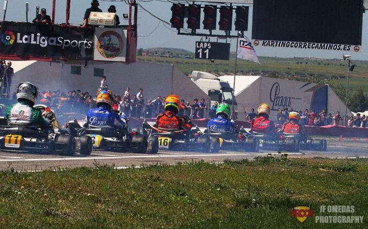 El CEK vuelve a la carga en el Kartodromo de Valencia