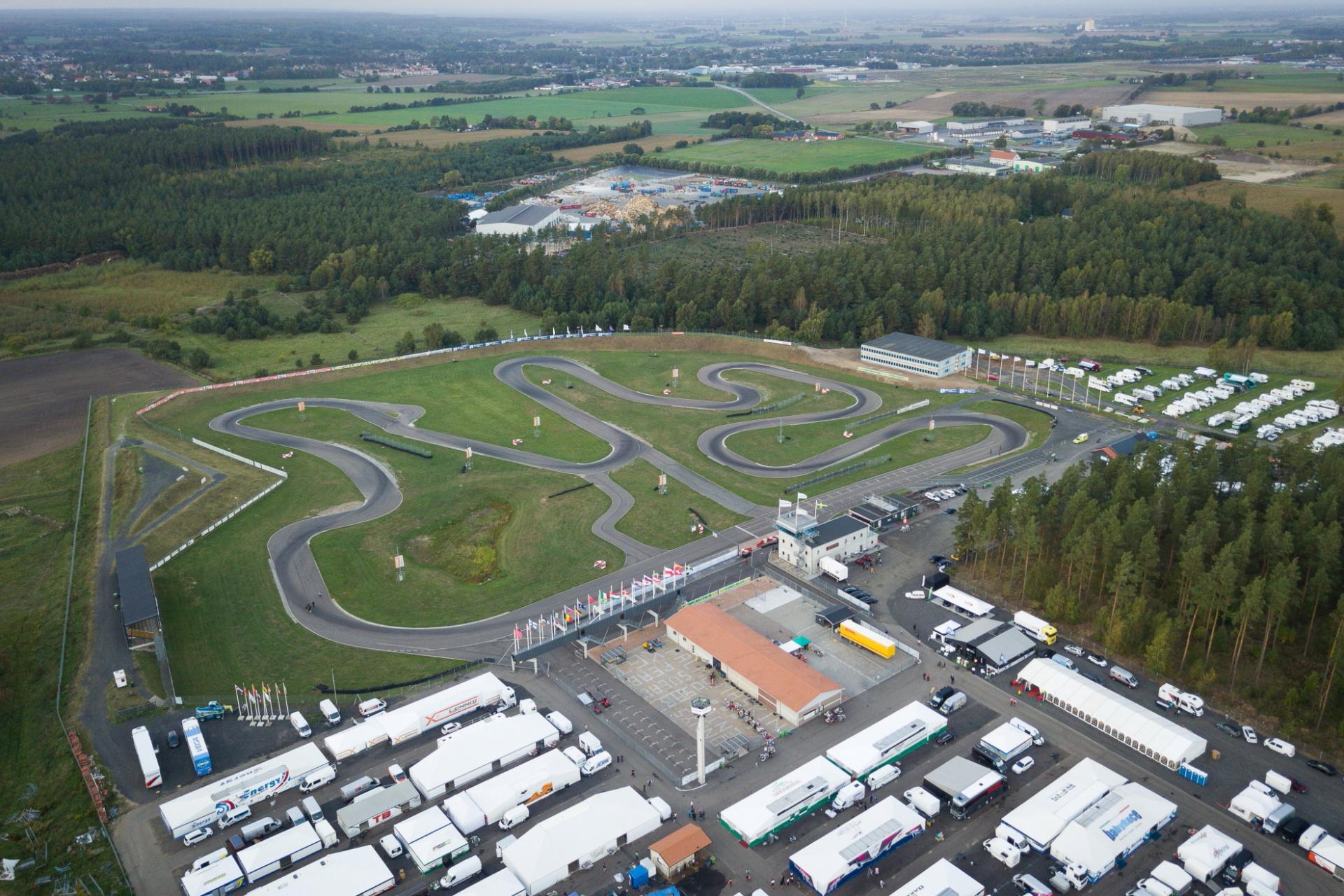 Turno del primer Campeonato del Mundo FIA Karting 2021