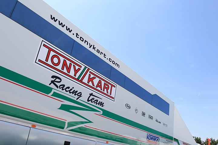 Hiltbrand y Vidales, los españoles del Tony Kart Racing Team
