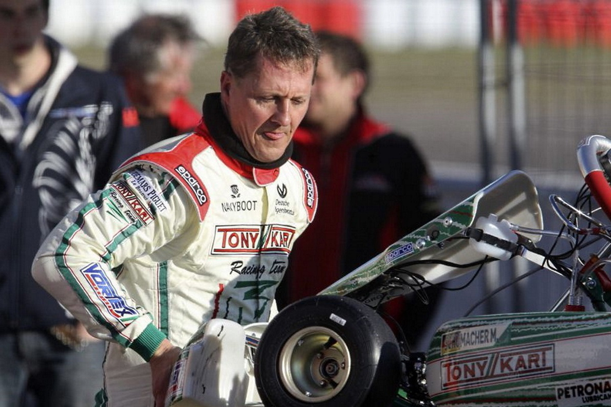 Las visitas de Michael Schumacher a España en 2013