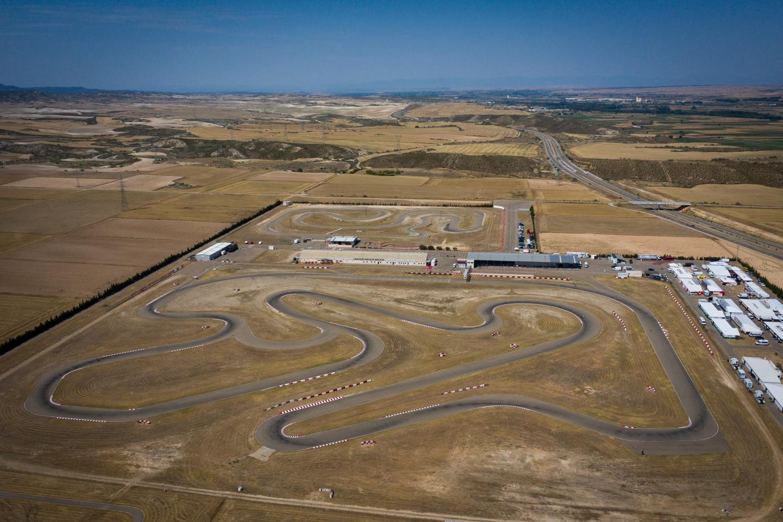 Los títulos europeos FIA Karting de OK y OK-Junior se deciden en Zuera