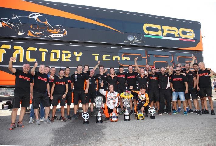 CRG wins the KZ European Championship  with Jorrit Pex